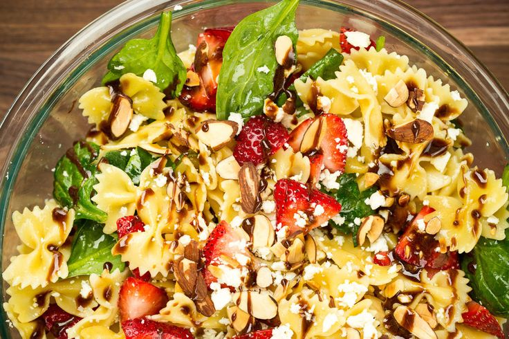 Strawberry Balsamic Pasta Salad   - Delish.com