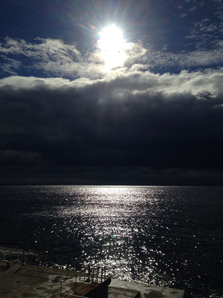 Sun  above sea