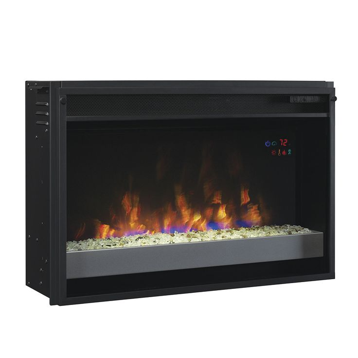 ClassicFlame 26-In SpectraFire Plus Contemporary Electric Fireplace Insert…