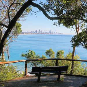 One of the best spots to take in the view #VisitGoldCoast #burleigh