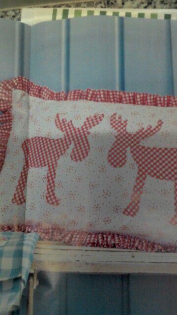 Cuscino con le renne