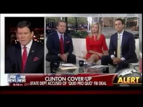State Department Asked FBI To Cover-Up Hillary Clinton's Emails In Excha...