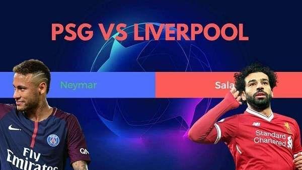 مباراة ليفربول وباريس سان جيرمان محمد صلاح مفاجأة تشكيلة الريدز أمام بي اس جي Neymar Psg Liverpool
