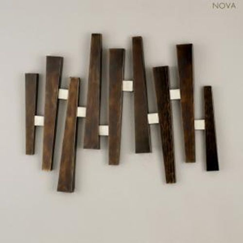 art made from wood | Contemporary Wall Art Decorating Home With Self Made  Wooden Wall Art