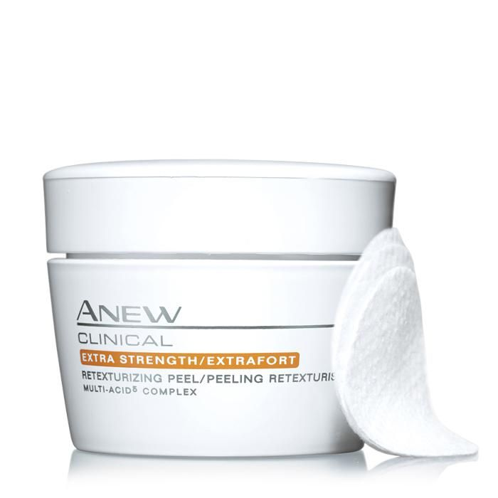 Anew Clinical Extra Strength Retexturizing Peel Pad https://www.avon.com/product/anew-clinical-extra-strength-retexturizing-peel-pad-55679?rep=brippert