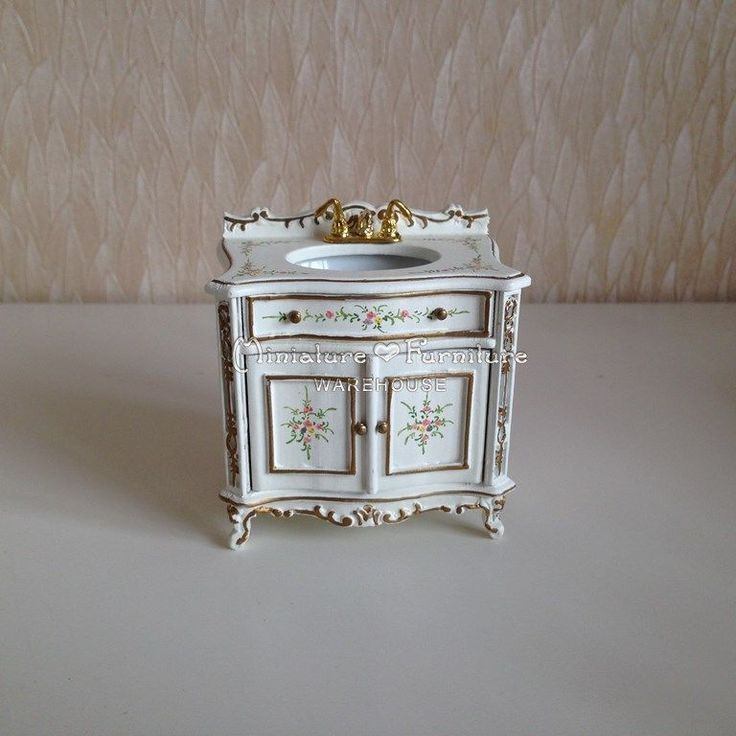 Popular Miniature Porcelain Dollhouse Bathroom Furniture  Haute Juice
