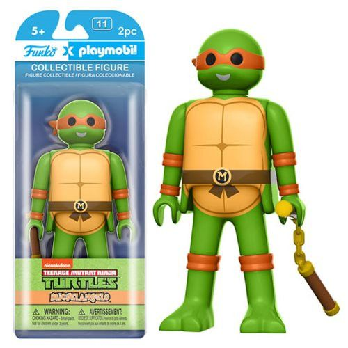 Teenage Mutant Ninja Turtles Michelangelo 6-Inch Playmobil Action Figure