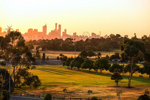 Sunrise at Footscray Park