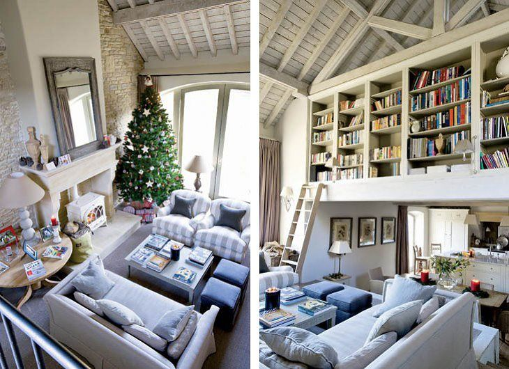 bookcase loft space - incredible!: Amazing Spaces, Exposed Beams, Spaces Dreams, Expo Beams, Book Book, Dreams House, Floors Libraries, Bookcases Libraries, Bookca Libraries