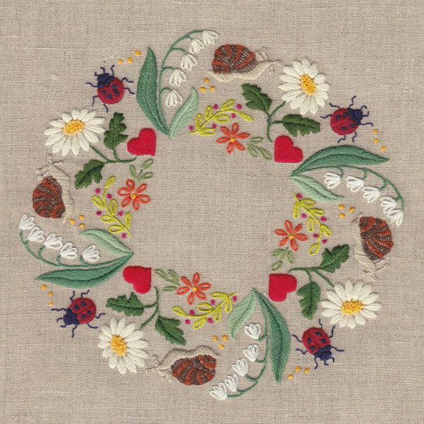 Ronde printaniere – French Needlework Kits, Cross Stitch, Embroidery, Sophie Digard – The French Needle