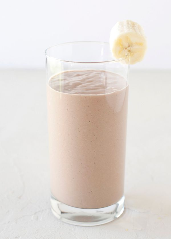 1 cup Chocolate Almond Breeze 2 Tablespoons natural peanut butter 1/4 of an avocado 1 Tablespoon honey 1 teaspoon coconut oil 1/2 frozen banana