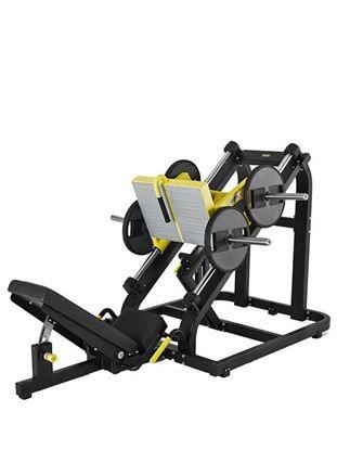 plate loaded lat machine idea leg press no equipment workout rh pinterest com