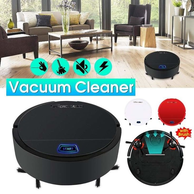 Automatic Rechargeable Smart Clean Sweeping Robot Vacuum