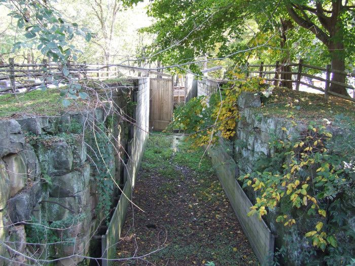 7) Beaver Creek State Park east liverpool in columbiana county, built in early 1800's.  two of the canal locks are supposed to haunted by canal workers with lanterns who died on the job.