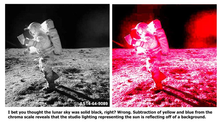 Huge List of Moon Landing Hoax Evidence - David Icke's Official Forums