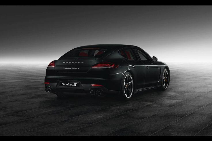 Porsche Exclusive voorziet Panamera Turbo S van zwarte smoking
