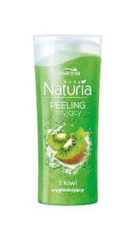 Peeling myjący do ciała z kiwi Naturia body. Skóra jest odświeżona i oczyszczona, gładka i miła w dotyku oraz przyjemnie pachnąca.