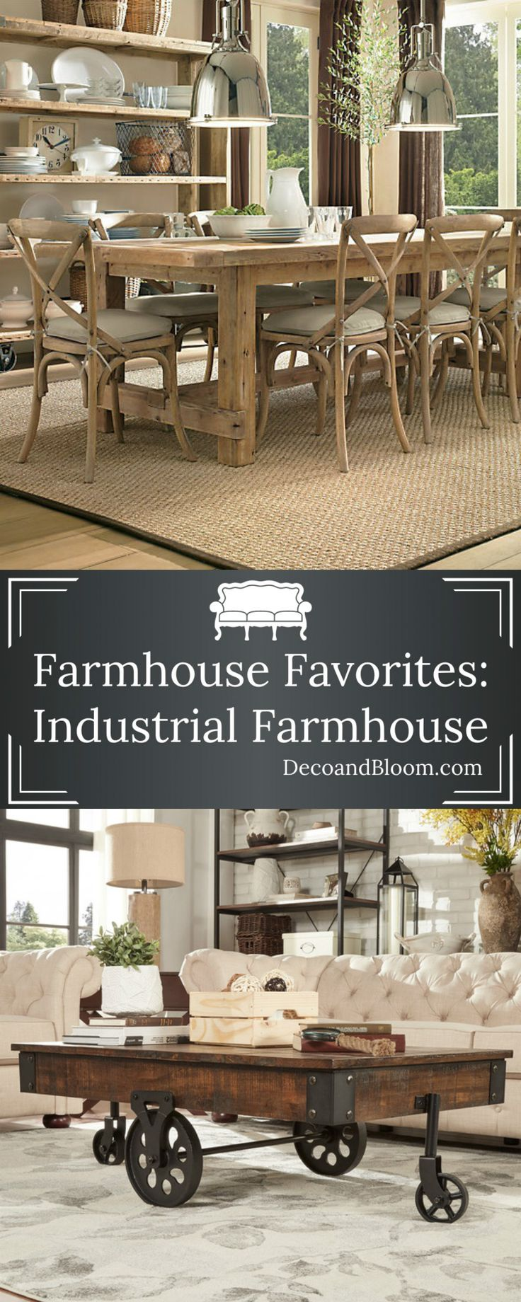 17 ideas about Industrial Farmhouse on Pinterest