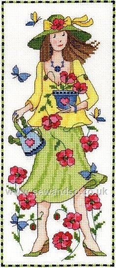 Buy Camilla Cross Stitch Kit online at sewandso.co.uk