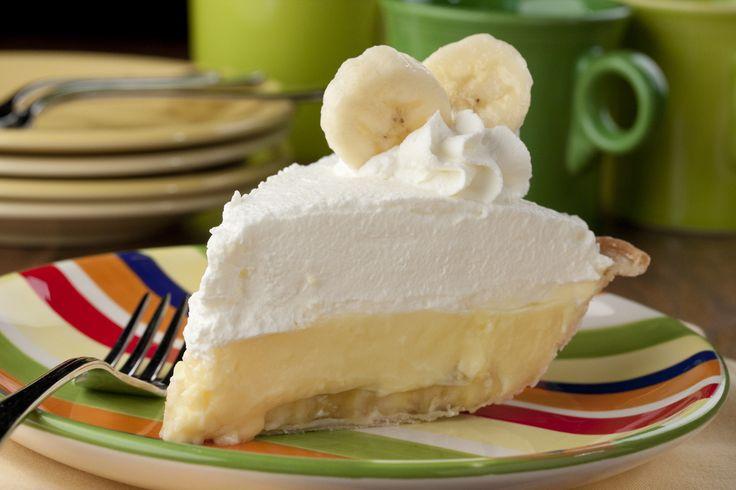 Diner-Style Banana Cream Pie | MrFood.com