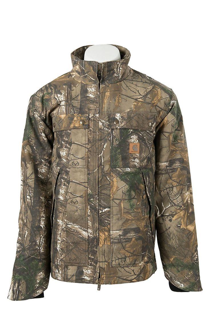 Carhartt Realtree Xtra Water Repellent Quick Duck Traditional Jacket | Cavender's