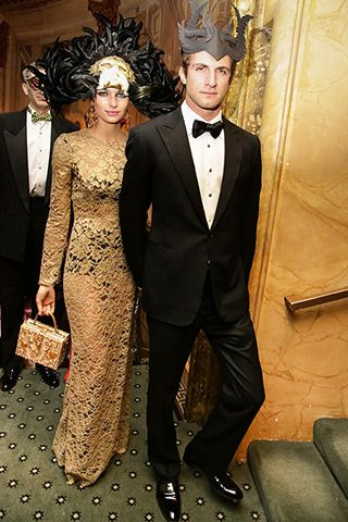 Jessica and Stavros Niarchos