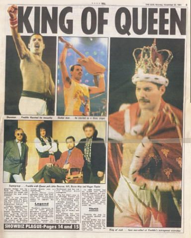 Freddie Mercury Funeral   Rock star Freddie Mercury is dead - just two days after confirming he HAD AIDS...