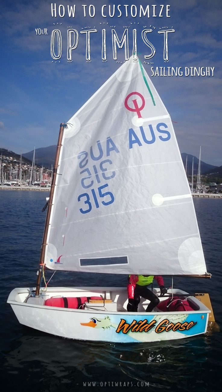 How to customize your Optimist Sailing Dinghy - OptiWraps