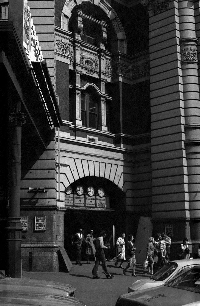 Flinders Street station 1970's