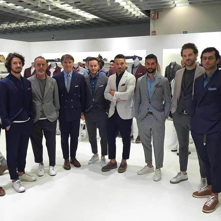 The Style Boss of Pitti Uomo with his chic cadets! @brunellocucinelli @gq  via ✨ @padgram ✨(http://dl.padgram.com)