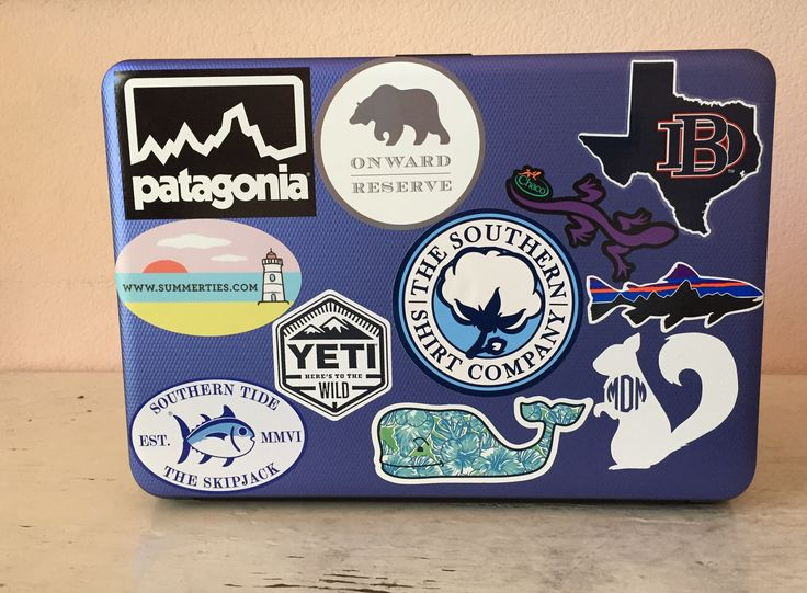 Everything you need to know to get free stickers from your favorite preppy brands
