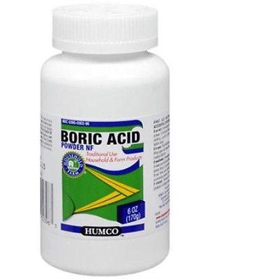 Humco Boric Acid Powder NF, 6oz 303950303963A551