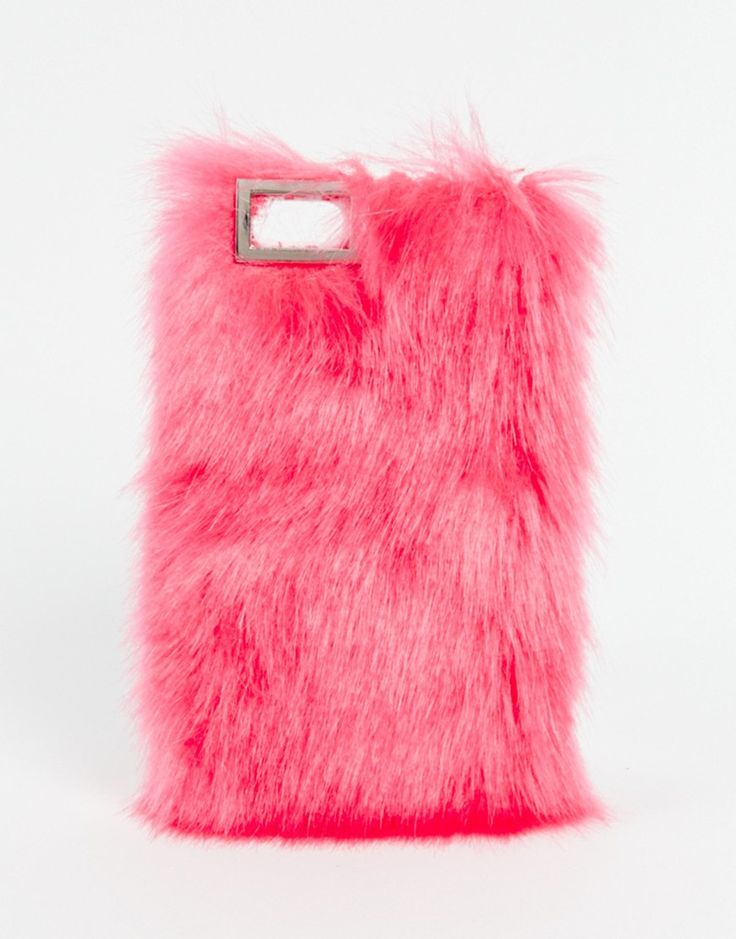 Oh wow! Yesssss! Bright pink fluffy phone case, this is amazing, well done skinny dip! http://asos.do/UizhnD