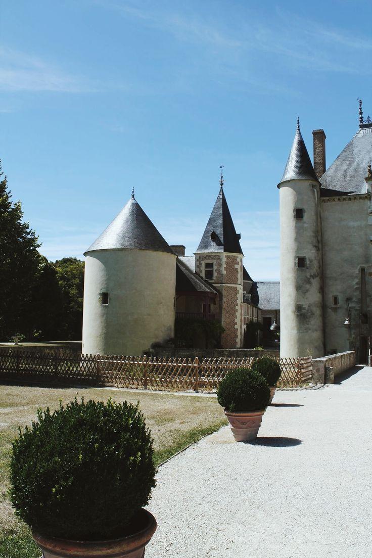 Château de Chamerolles à Chilleurs-aux-bois - Promenade des parfums (45)