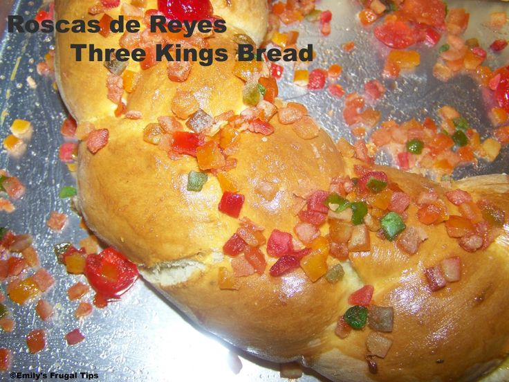 Rosca de Reyes Bread recipe
