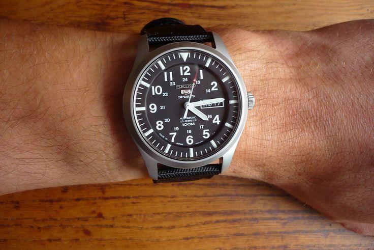 Seiko SNZG15 J1 review | Clothing: Watches | Pinterest