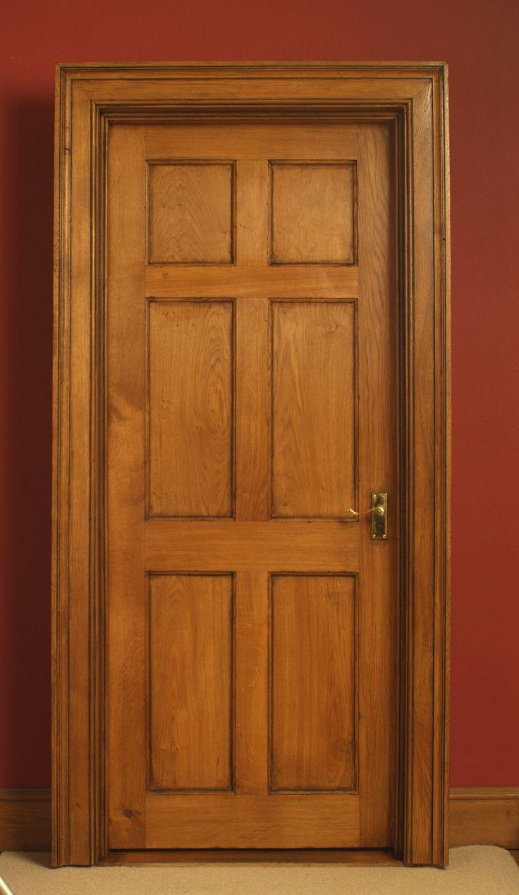 Best 20 oak interior doors ideas on pinterest oak doors six panelled oak interior door aged and polished eventelaan Image collections