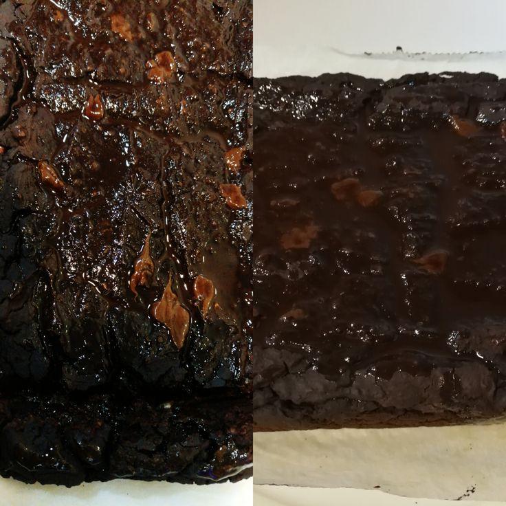 Brownie de alubias rojas