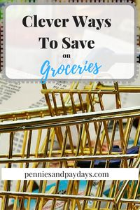 how to save money on groceries and food