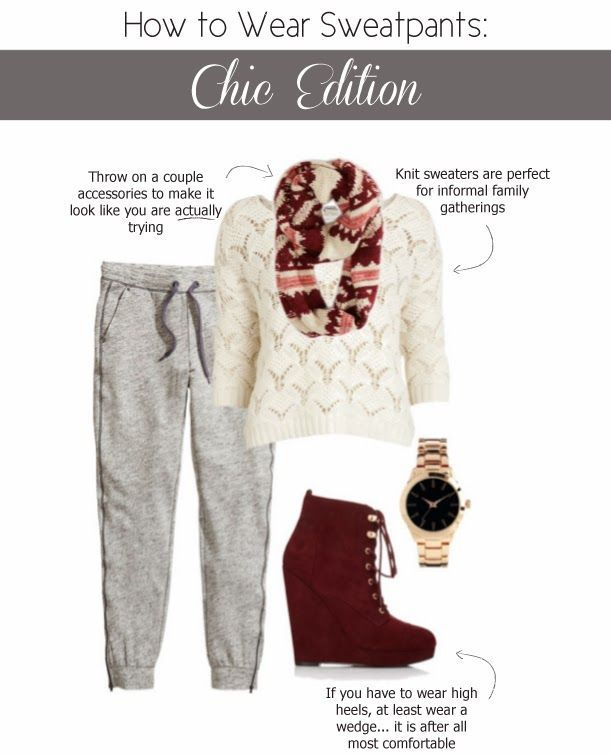 How to Wear Sweatpants: Chic Edition