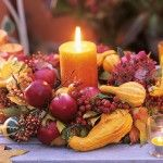 Decorazioni di Halloween: le zucche in tavola