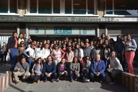 Becas Internacionales MESCyT / CEF.- / UDIMA España 2017-2018