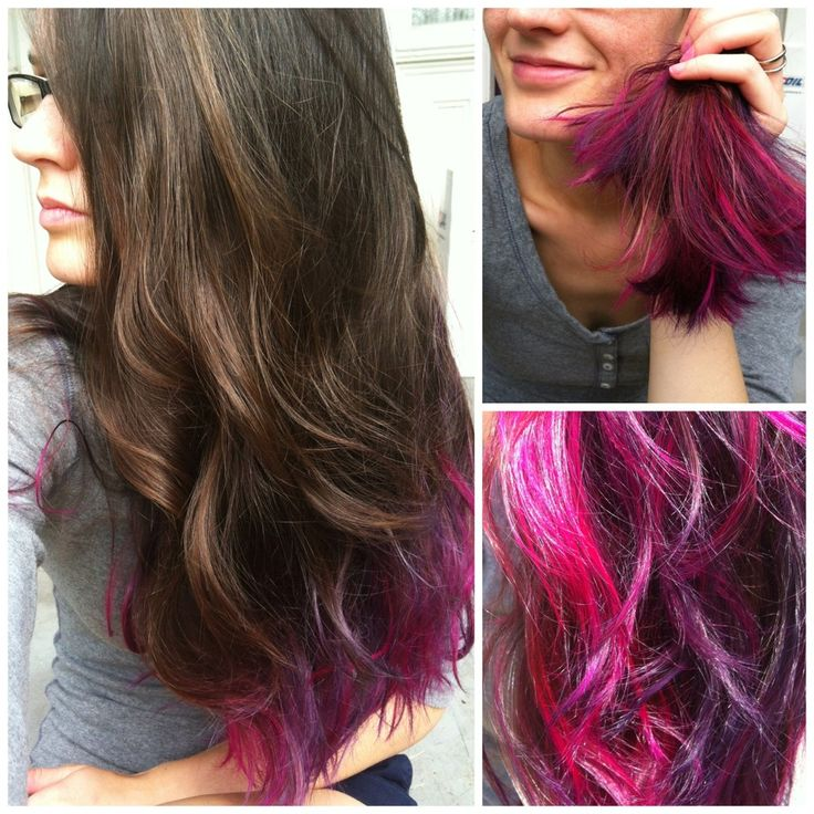 Magenta Ion Color Brilliance Hairstyle Inspirations 2018