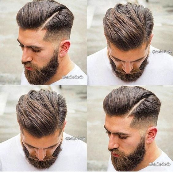 5 Cool Males's Hairstyles With Beards #hairstyles #hair #haircut #trend #hairs…