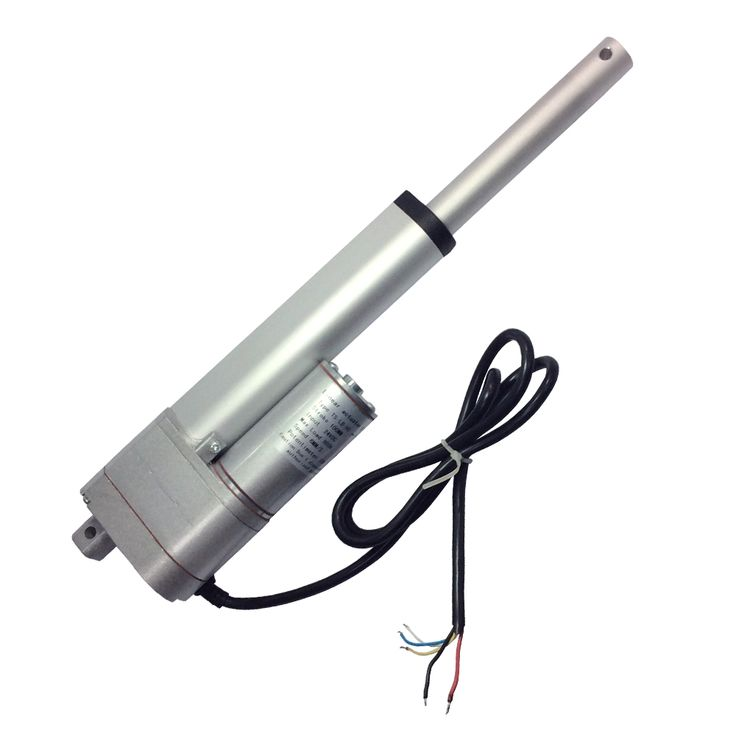 12VDC / 100mm=4'' / 450N=165lb Electric Linear Actuator Motor with 10K Potentiometer feedback