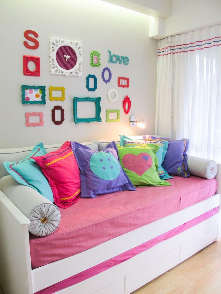 Decoracao De Quarto Pequeno Colorido ~ quarto colorido  Kids  Pinterest  Quartos