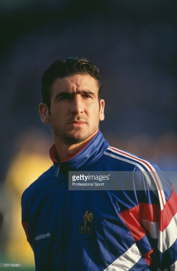 Photo by xpb images on november 06th, 2011 at british gp. French Footballer Eric Cantona Pictured Standing On The Pitch Prior Eric Cantona Eric Football