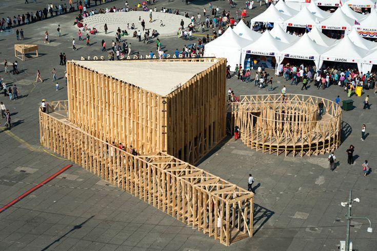 Galería - Pabellón para la Feria de las Culturas / PRODUCTORA - 1