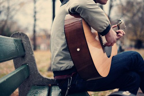 have a guy who will play guitar and sing to me