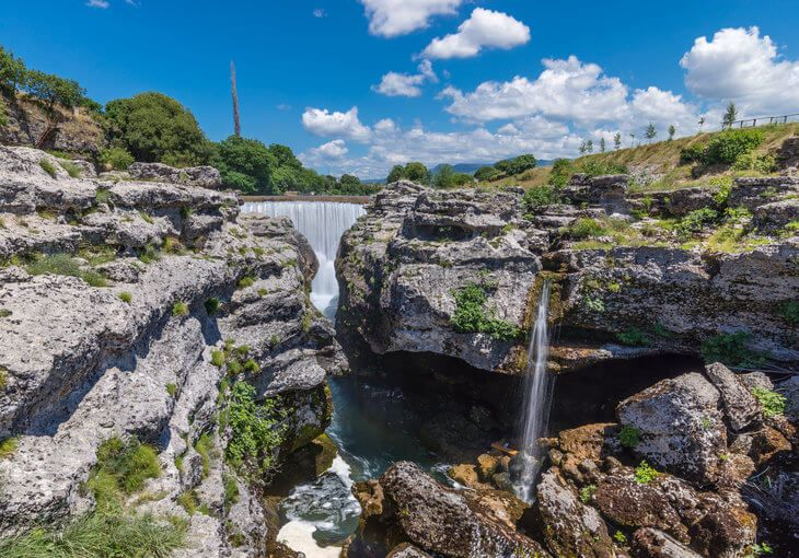 Montenegro's Niagara Falls on the Cijevna River is one of the best things to do in Podgorica, Montenegro.